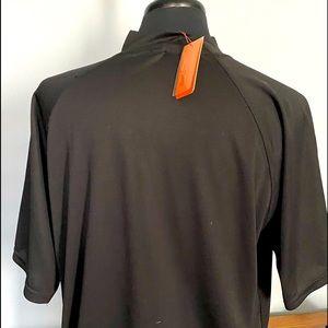 NWT men's mock neck golf shirt.